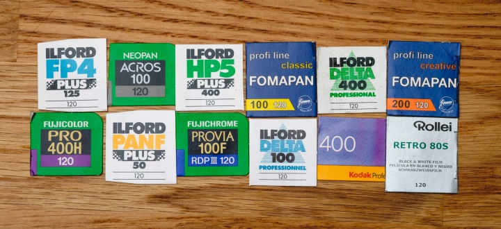 120 Film Quick Takes