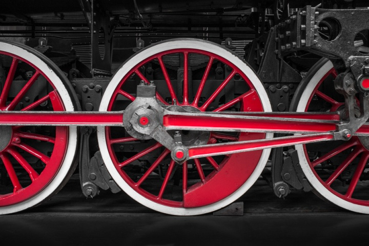 Locomotion in Red