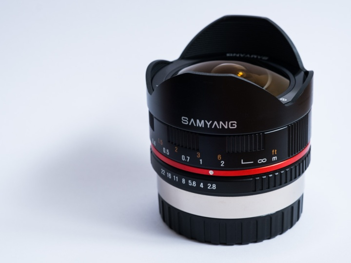 Samyang 8mm f2.8 fisheye